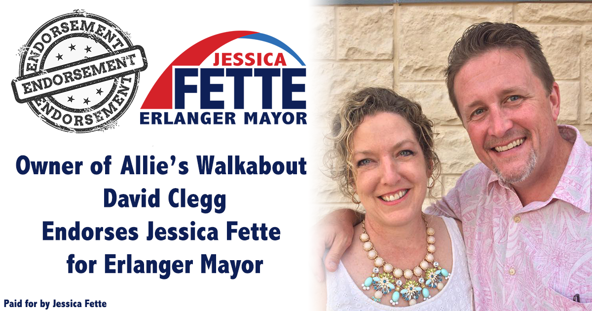 To Lead, To be Out Front, To Generate Ideas - David Clegg Endorses Jessica Fette