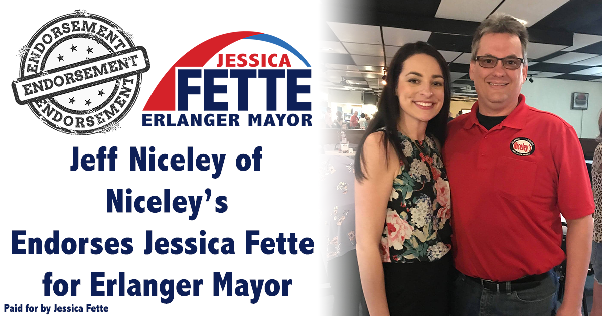 Exciting Ideas to Move Our City Forward - Jeff Niceley Endorses Jessica Fette