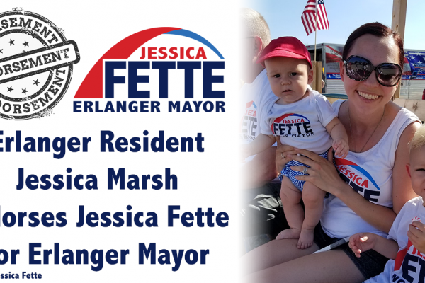 Always Willing to Speak up and Speak out to Make a Difference - Jessica Marsh Endorses Jessica Fette for Mayor